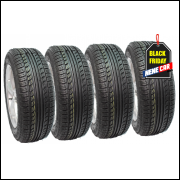 Kit 4 pneus 195/60R15 Remold Fox Fiesta Civic Peugeot- Am Plus